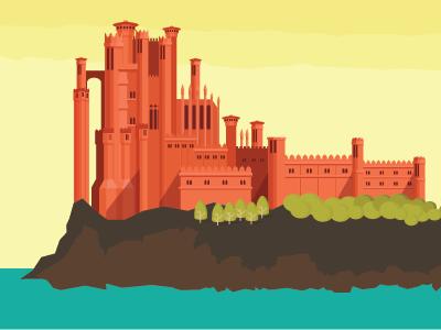 Kingslanding castle d 01