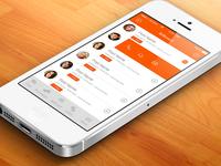 Mingout App Design