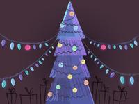 Happy Holidays - (Dribbble invites)