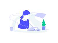 TaxScouts - Illustration - Simple online preparation