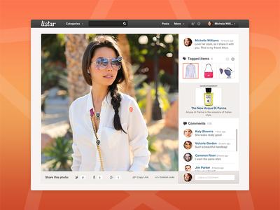 Listar Photo Page