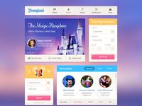 Disneyland UI Kit