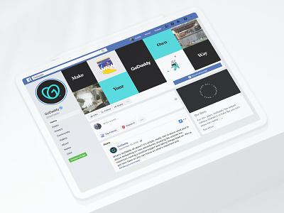 """""""The GO"""" Social Launch brand logo instagram stories instagram facebook facebook cover social media"""