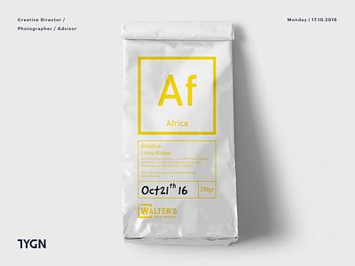Walter's Coffee Roastery - Packaging Design walter tasarım grafik breakingbad symbol mark coffee logo taygun london istanbul turkey