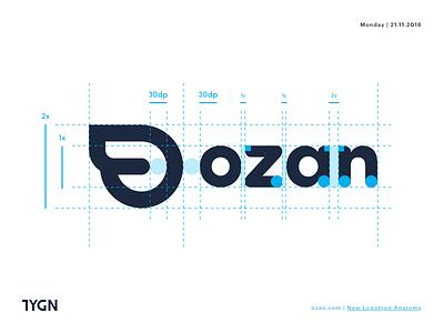 Ozan - New Logotype Anatomy logotype transfer tasarım grafik wallet ozan mark payment logo taygun istanbul turkey