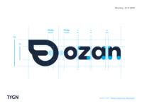 Ozan - New Logotype Anatomy