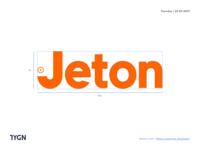 Jeton - New Logotype Anatomy