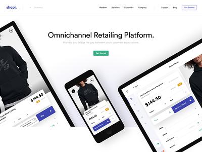 Shopi Hq - New Website web app icon branding ux istanbul typography application devices platform landing page logo design ui