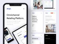 Shopi Hq - New Website / Mobile Version