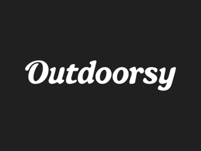 Outdoorsy - Logotype Exploration
