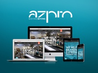 Custom Website Redesign for azpro