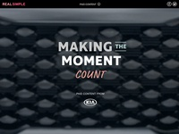 Making the Moment Count
