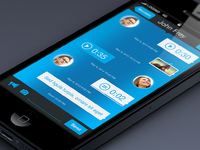 Chat conversation app big