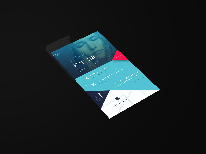 App preview menu