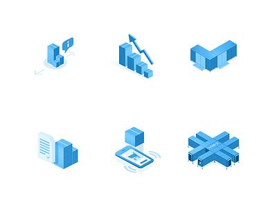 LTL-icons box hub pixel motion ux icons transport illustration