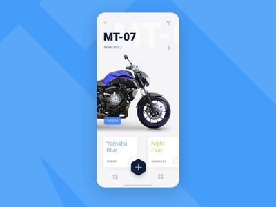Motorbike buying process 🏍 XD Auto-animate icons ico animation navigation iphone interface mobile design ios menu application app ux ui  ux design ui shoop motorbike auto animate adobe experience design xd