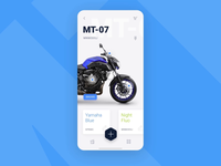 Motorbike buying process 🏍 XD Auto-animate icons ico animation navigation iphone interface mobile design ios menu application app ux ui  ux design ui shoop motorbike auto animate adobe experience design xd