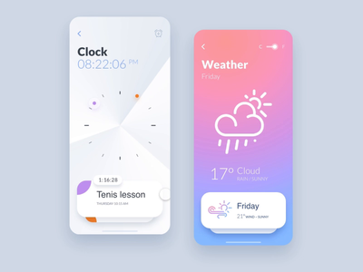 Simple slider Xd-animation slider ui  ux ipad ui clock task weather icons set iphone mobile icons app apps application concept app interface prototype animation navigation menu xd prototype concept time