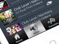Inpartyapp custom tab bar