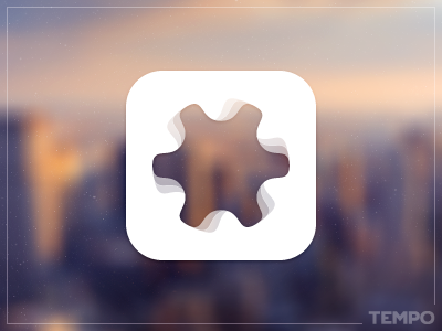 ico_tempo iphone ios speed pace ico icon logo branding tempo settings