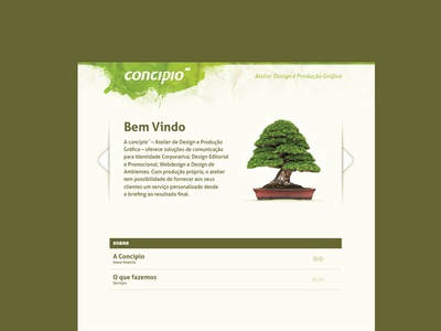 Concipio Landing page