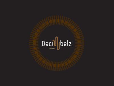 Decibelz Fusion Bar Logo world music live bar logo