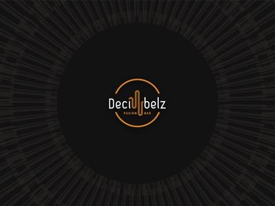 Decibelz bar – final Logo groove vinyl fusion world music logo