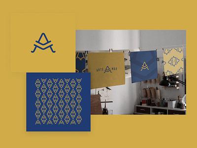 Artemão brand  logo brand personal project handcraft