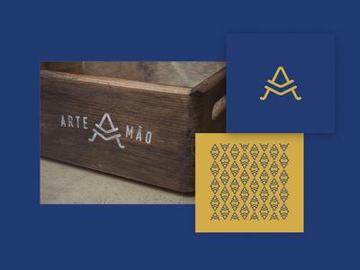 Artemão brand project personal logo handcraft brand