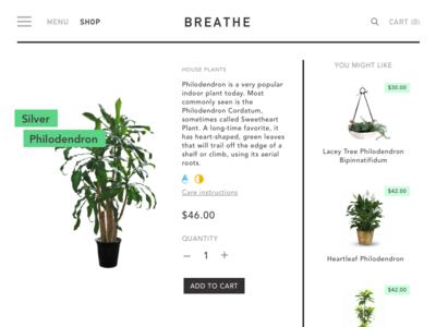 DailyUI #12 E-commerce single product page