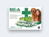 Natural Animal Solutions poster