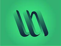 Unused WA monogram