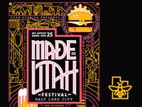 Made in Utah Festival Poster
