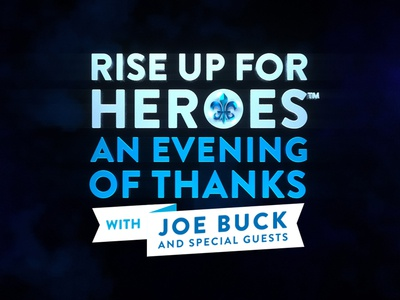 Rise Up For Heroes | Broadcast Special Logo vector after effects animation design octane render cinema 4d c4d