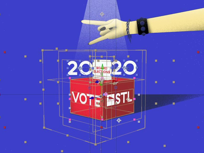 AIGA STL | 2020 Board Elections 03 BTS motion graphics aftereffects creative motion designer motiongraphics mograph motion design design graphic motion aiga bts making of grain illustration rocker hand animation rock n roll