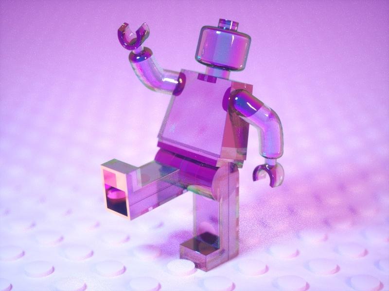 Lego Model design 3dmodeling octane render cinema 4d c4d