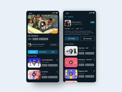 Vimeo Mobile App _ Redesign 02