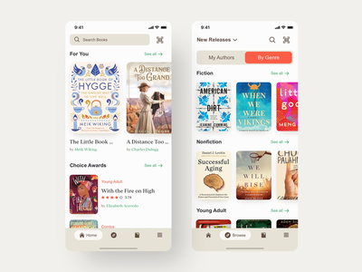 Goodreads UI - Redesign goodreads rating awards scan cover lists reading list reading genres bookstore book search bar tabs design navigation digital ux uidesign ui