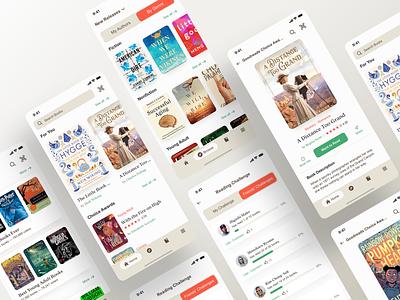Goodreads Mobile App - UI - Redesign reader books ios apple kindle amazon mobile ui mobile app mobile search bar app appdesign ui design tabs digital ux uidesign navigation