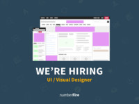 numberFire Is Hiring -  UI/Visual Designer