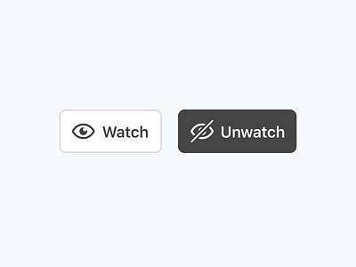 Watch List Icon + Button sketch ui eye icon watchlist watch list