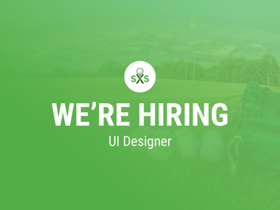 [ENDED] Swing by Swing is Hiring a UI Designer swing by swing sketch job ui designer hiring