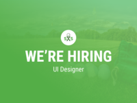 [ENDED] Swing by Swing is Hiring a UI Designer