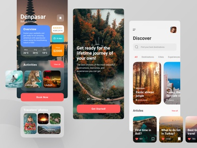 Plesir Travel Apps product design ux ui experience nature lifestyle culture destination holiday vacation travel mobile apps application