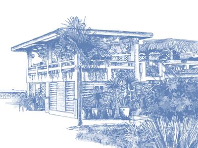 Real Estate Landing Page Illustration property website landing page web apartment home real estate illustration