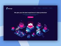 Cloud Storage Landing Page Exploration