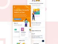 Mangertos Responsive Mobile Landing Page