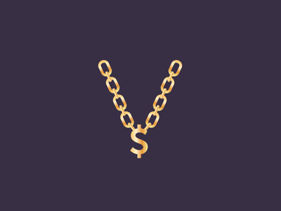 Swag jewelry dollar sign bling chain gold swag codevember clean