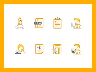 Individual order demand icon visual brand logo order icon