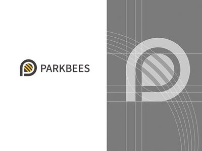 Parkbees 丨蜜蜂停车logo设计